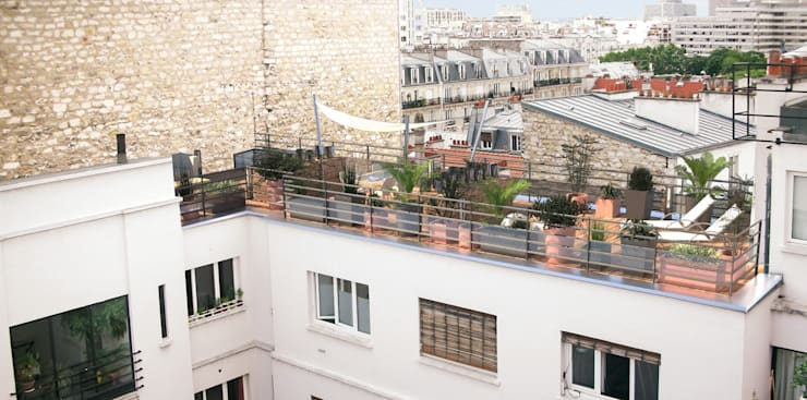 Amenagement D Un Toit Terrasse A Paris Par Rm Architecte Homify