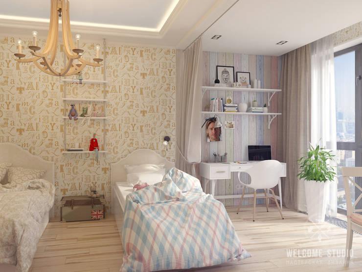 Детская ракурс 1: Детские комнаты в . Автор – Мастерская дизайна Welcome Studio, Рустикальный