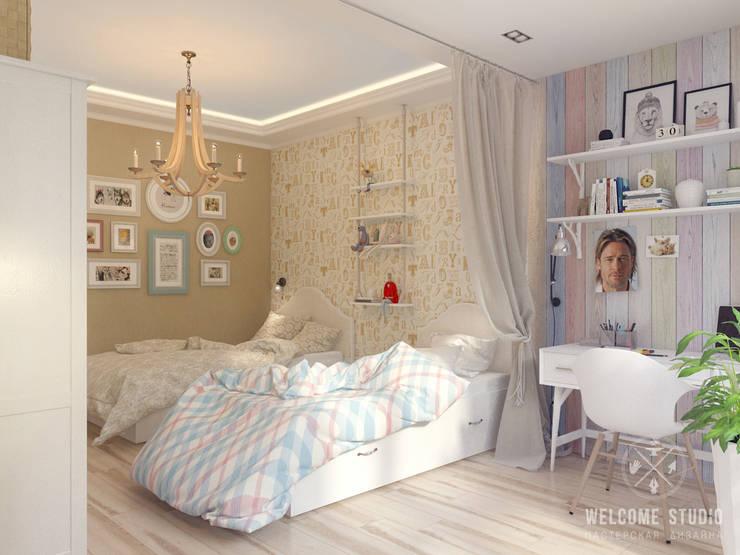 Детская ракурс 2: Детские комнаты в . Автор – Мастерская дизайна Welcome Studio, Рустикальный
