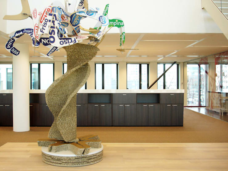 MerkenBoom | Royal FrieslandCampina: modern  door studio Che Eyzenbach, Modern