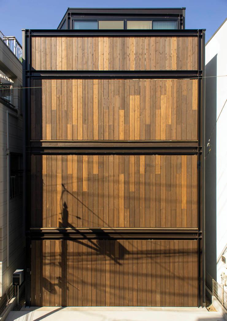 A-sign Building: 井上洋介建築研究所が手掛けた家です。