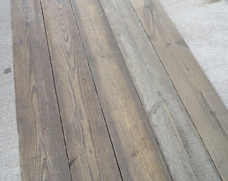 Reclaimed Antique Square Edged Pine Floorboards :  Bathroom by UK Architectural Antiques