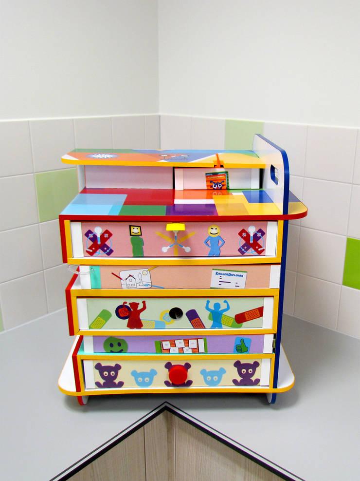 Bewust Belonen Box | Wilhelmina Kinderziekenhuis Utrecht:  Kinderkamer door studio Che Eyzenbach
