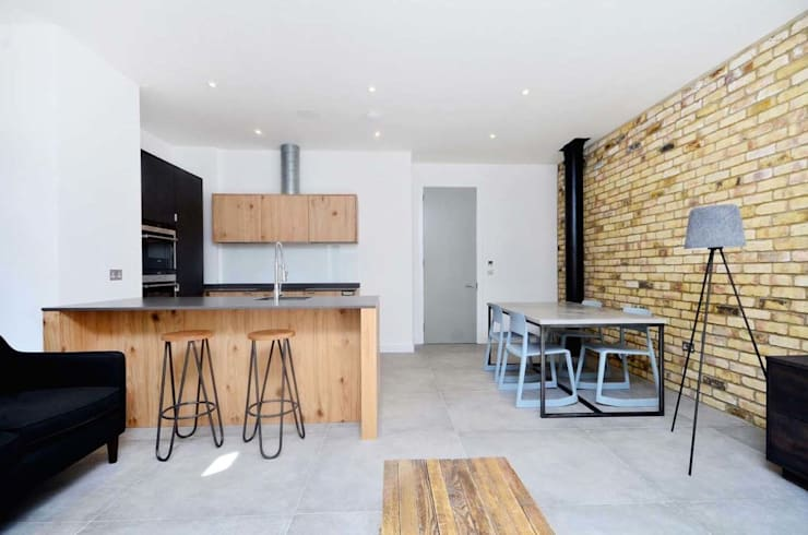 The Denim Factory: industrial Kitchen by Terry Design