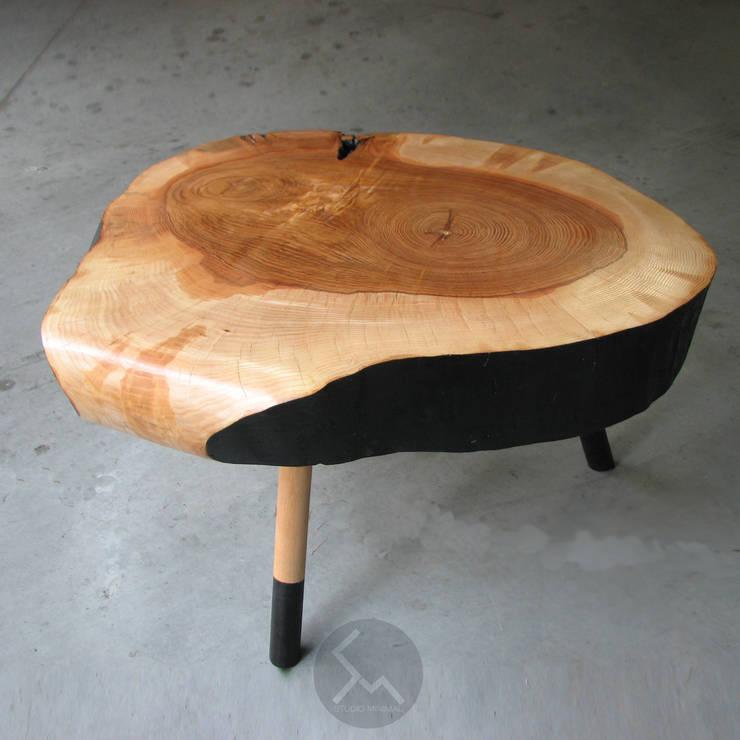Ława No.5 UFOB: styl , w kategorii Salon zaprojektowany przez Studio Minimal Meble