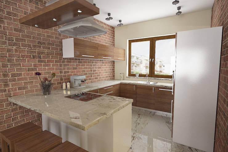 Dom no.1 Loft: styl , w kategorii  zaprojektowany przez Studio Minimal,