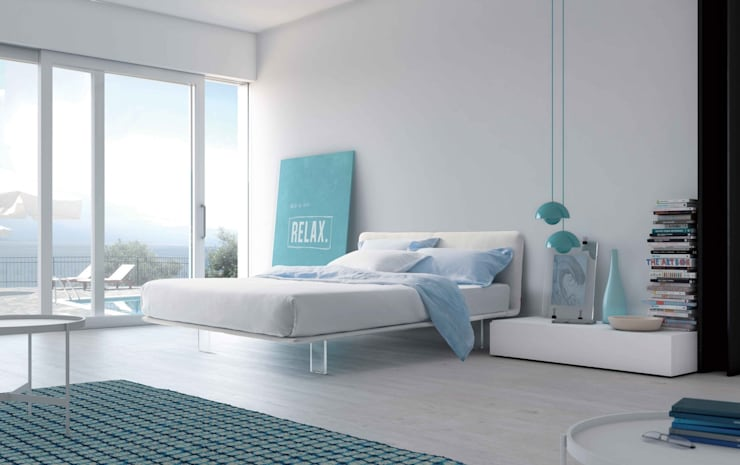 Filo Bed:  Bedroom by Campbell Watson