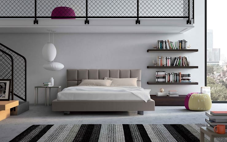 Cubic Bed:  Bedroom by Campbell Watson