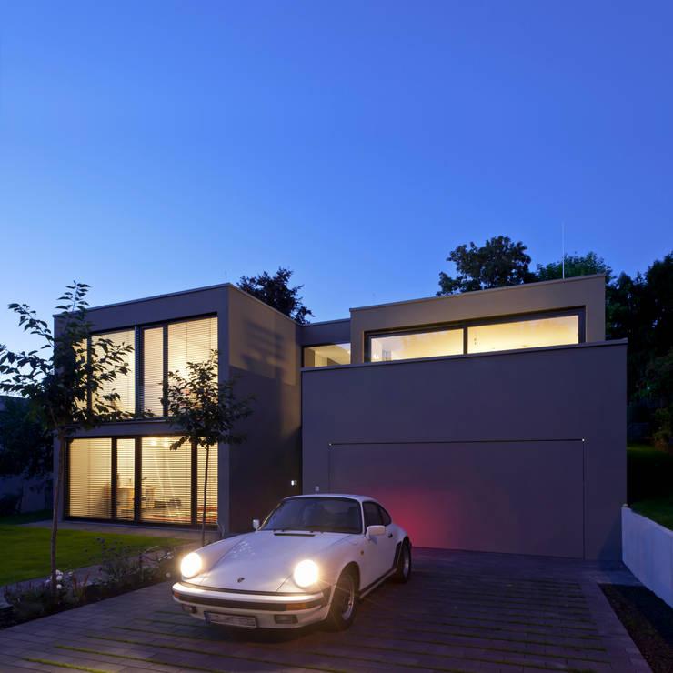 Projekty,  Domy zaprojektowane przez Architekturbüro Dongus