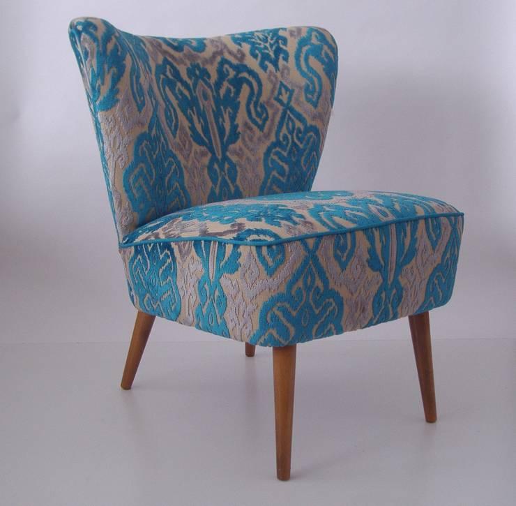 Retro televisiestoel:   door Lifecycle Art & Furniture, Eclectisch