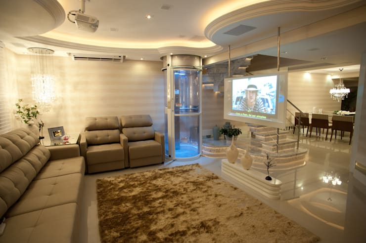 Living room by Paulinho Peres Group,