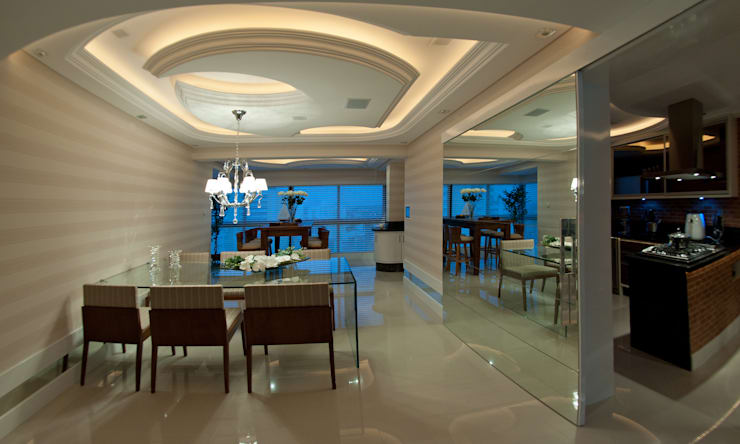 Dining room by Paulinho Peres Group,