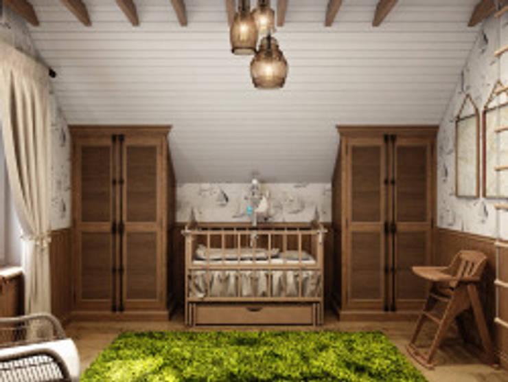 пос. Вартемяги: Детские комнаты в . Автор – HOMEFORM Студия интерьеров