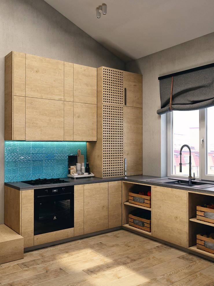 ЖК Еловый дом: Кухни в . Автор – HOMEFORM Студия интерьеров
