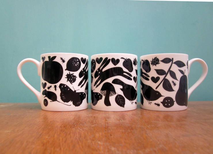 Woodland mug:  Kitchen by The Black Rabbit