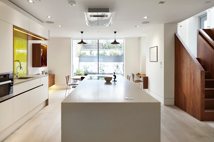 مطبخ تنفيذ Fraher Architects Ltd