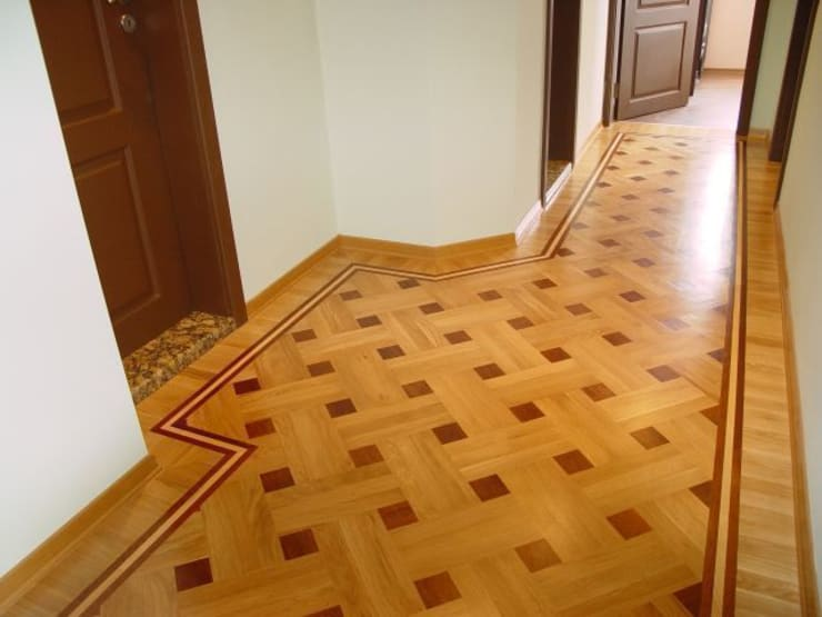 Corridor & hallway by Luxury Wood Flooring Ltd, Modern