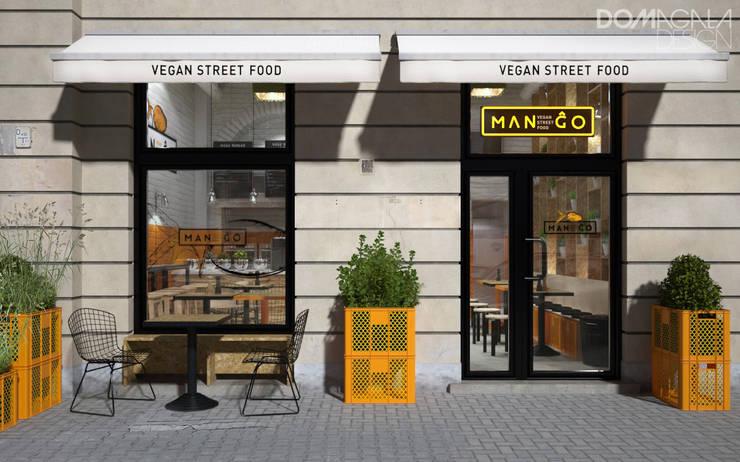Mango: styl , w kategorii Gastronomia zaprojektowany przez DOMagała Design