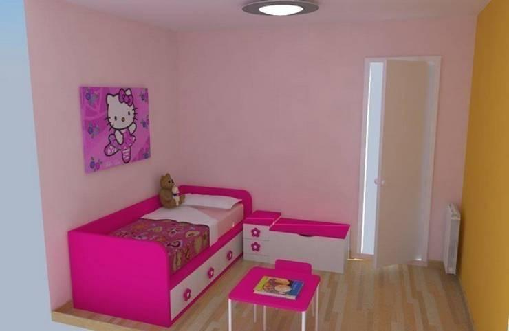 Lilas: Dormitorios infantiles de estilo moderno de Mobles la Gavarra
