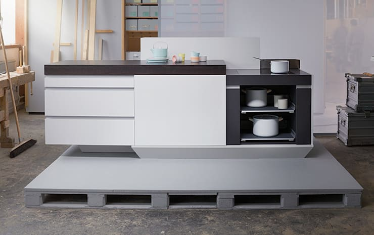Es lebe der Küchenblock!:  Küche von Küchenwerkstatt Josef Kriener