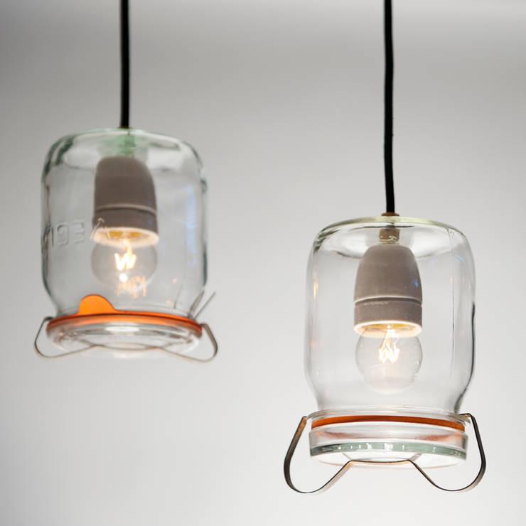 Weck Lamp:  Woonkamer door Chris Ruhe Meubelkunst