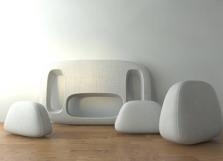 Living room by Studio Saihol Yuen