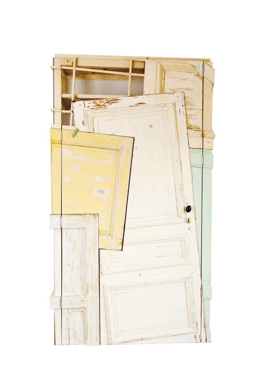 Gentse deuren:  Woonkamer door Chris Ruhe Meubelkunst