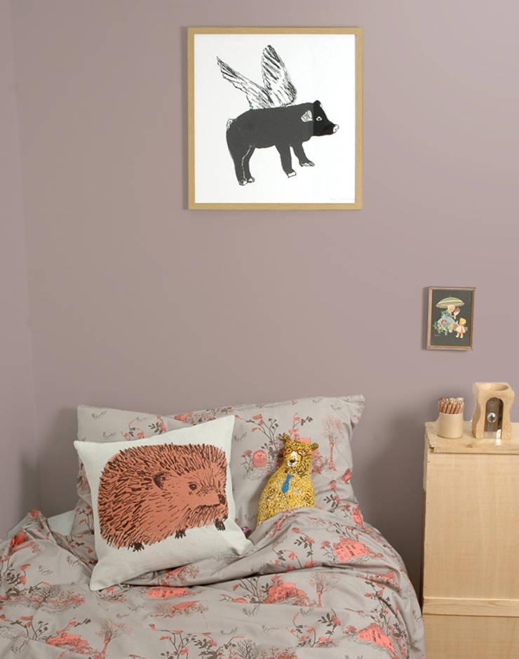 Woodlands Bed Linen:  Bedroom by Sian Zeng