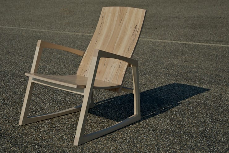 CHAIR no.2  :   door fingerprint furniture, Scandinavisch