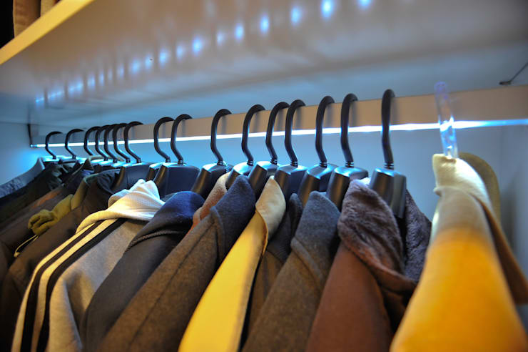 Vestidores y closets de estilo  por Paulinho Peres Group