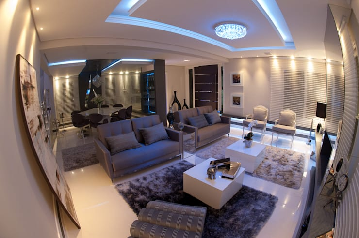Living room by Paulinho Peres Group
