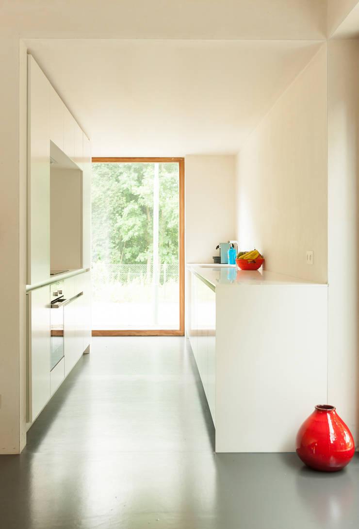 H118:  Keuken door das - design en architectuur studio bvba