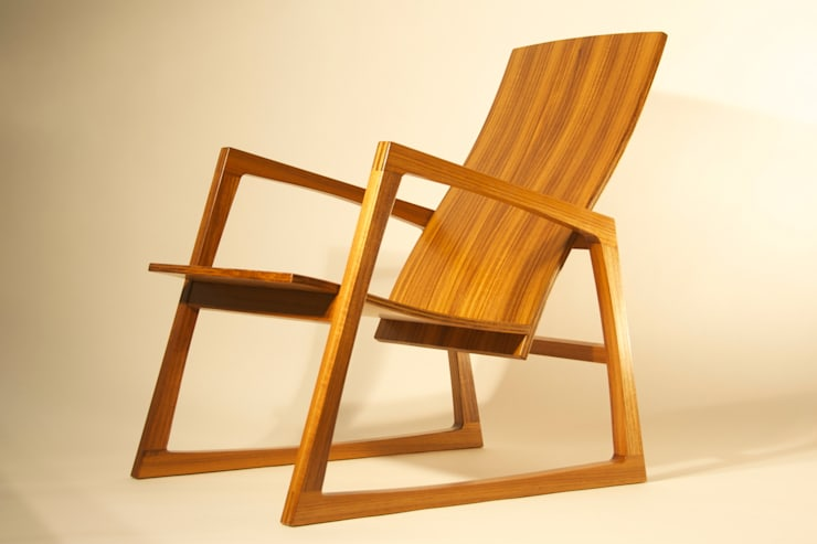 CHAIR no.2:   door fingerprint furniture, Scandinavisch