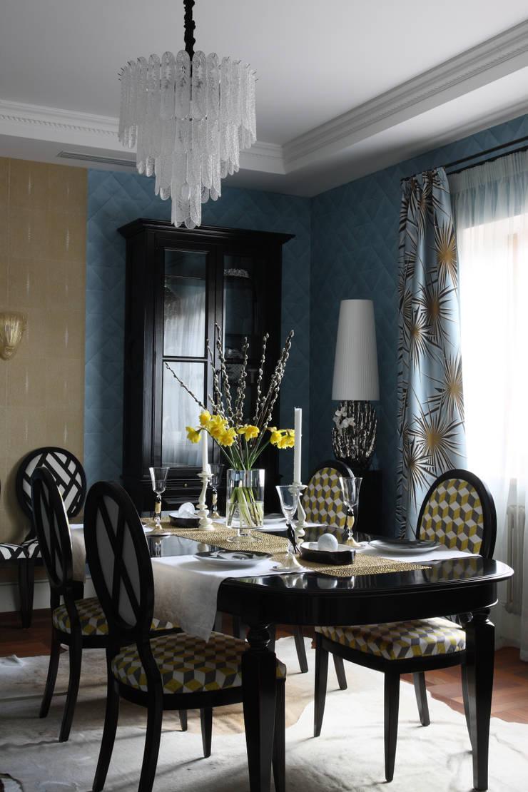 Загородный дом, Новая Рига: Столовые комнаты в . Автор – Roberts Design