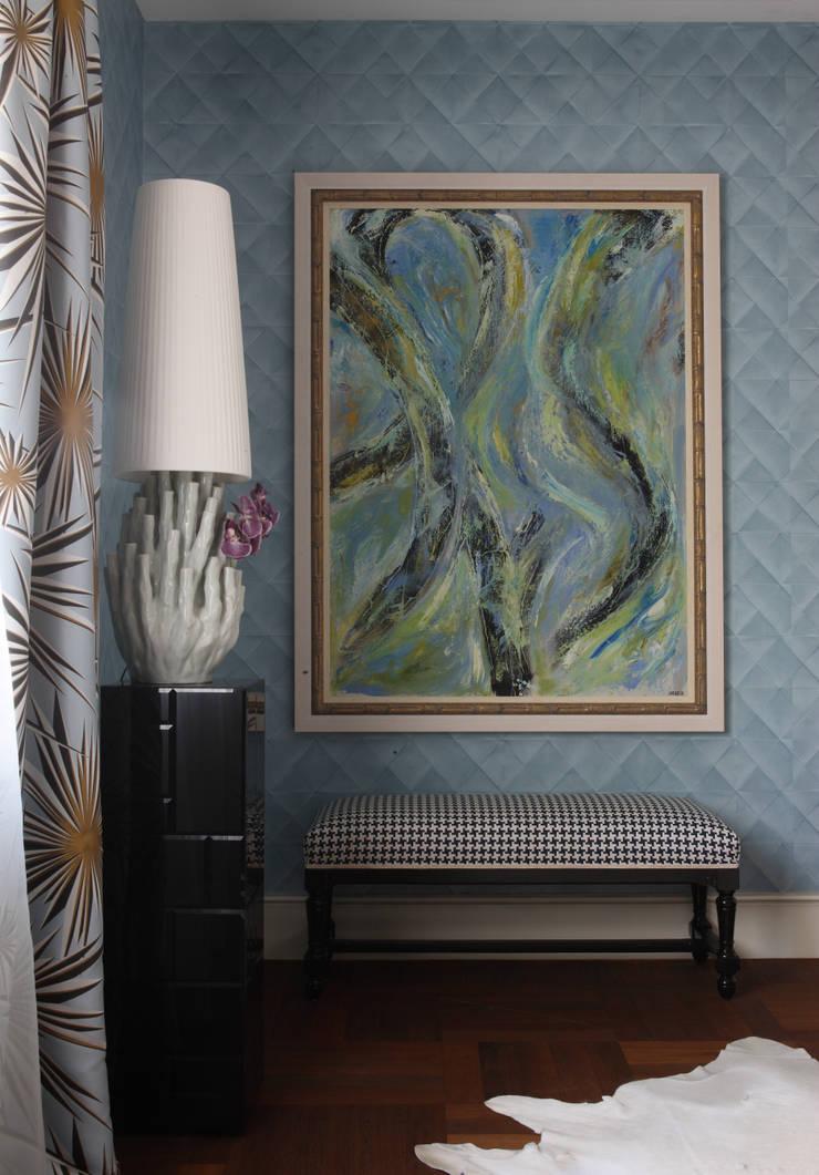 Загородный дом, Новая Рига: Столовая комната в . Автор – Roberts Design