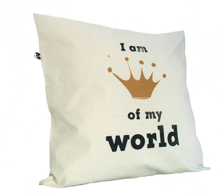 I am queen/king of my World: styl , w kategorii Sypialnia zaprojektowany przez MAQUDESIGN