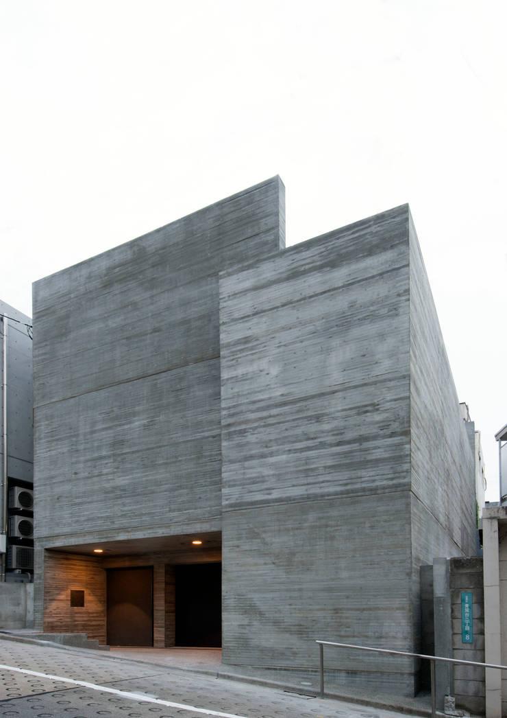 ファサード: 井上洋介建築研究所が手掛けた家です。