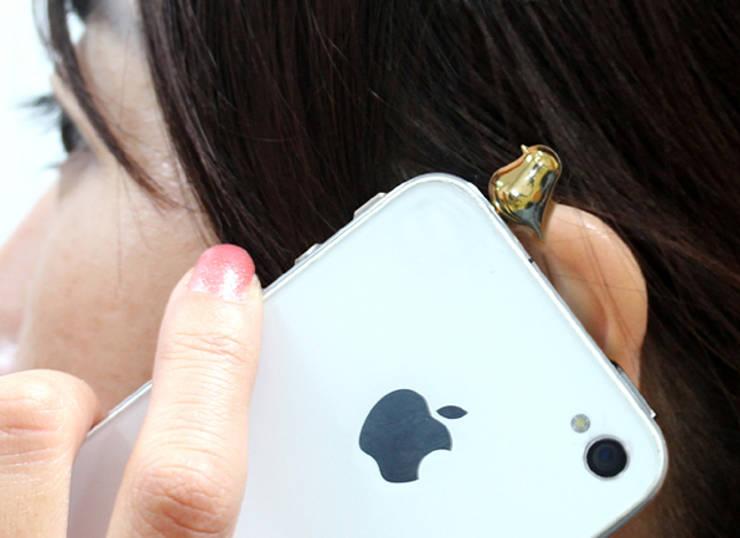 핸드폰에 날아든 작은 새 한마리: 앤드의  가정 용품