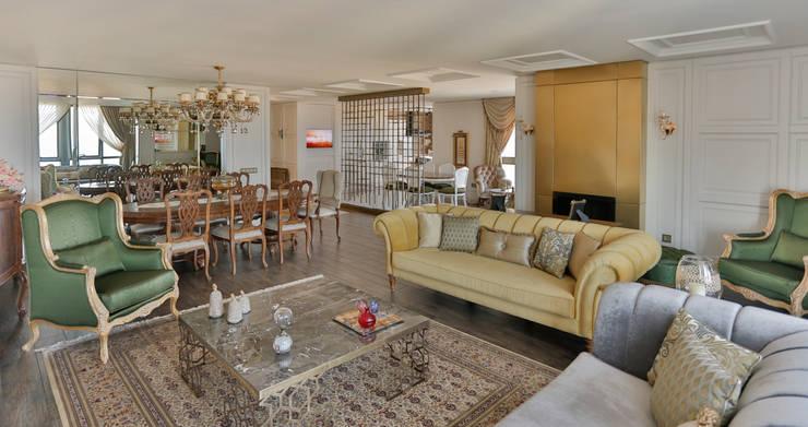 Salas de estar clássicas por PS MİMARLIK Clássico