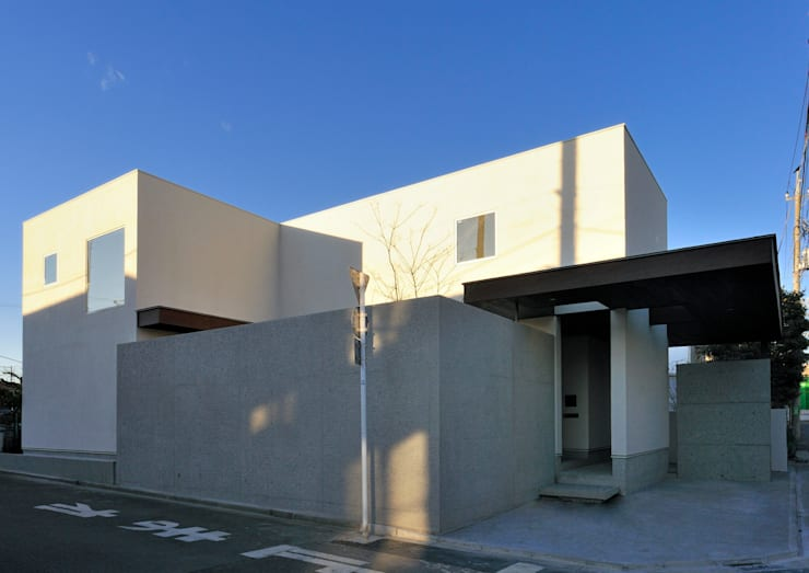 Rumah oleh 井上洋介建築研究所, Modern