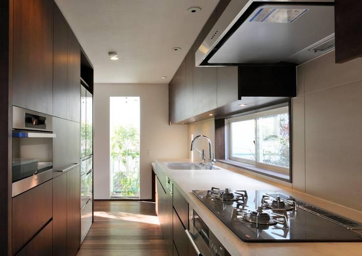 Dapur oleh 井上洋介建築研究所, Modern