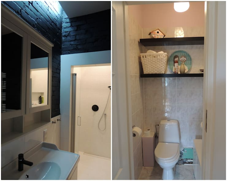 Łazienka: styl , w kategorii  zaprojektowany przez Studio Projektowe RoRO interior + design