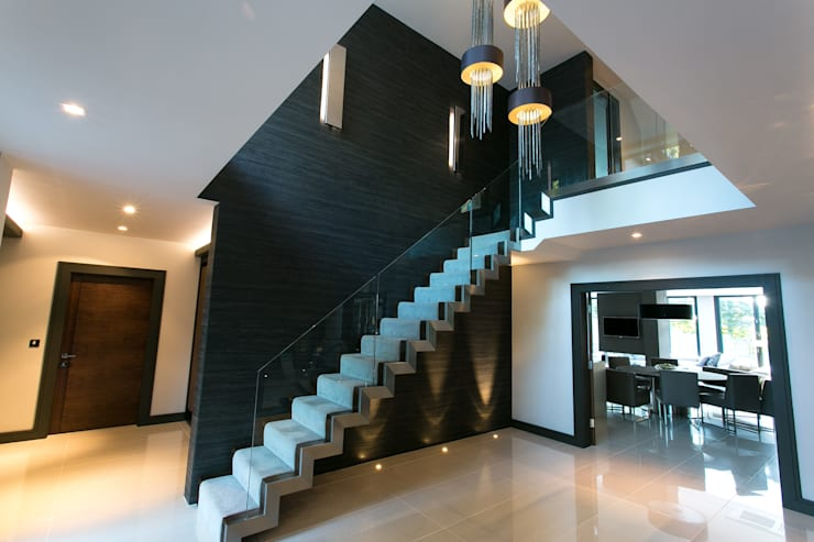 The Ultimate Sophistication :  Corridor & hallway by Finite Solutions