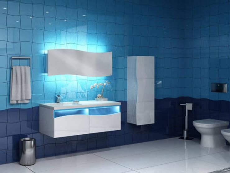 POLEN MUTFAK – BANYO DOLAPLARI:  tarz Banyo