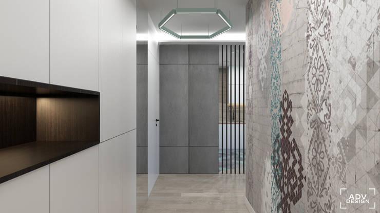 63 m2: styl , w kategorii Korytarz, przedpokój zaprojektowany przez ADV Design,Minimalistyczny