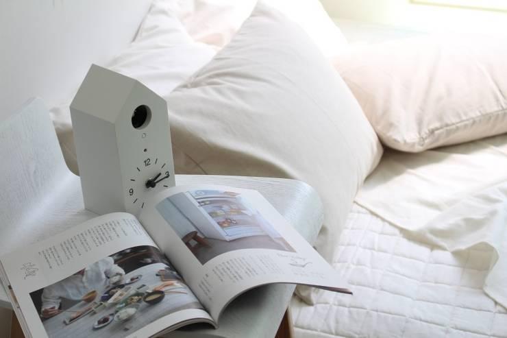 린넨 침구: 멜로브라운의  침실