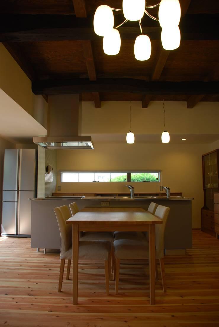 M邸: 長崎工作室が手掛けたキッチンです。