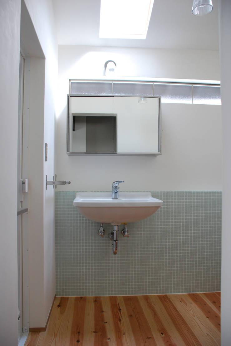 M邸: 長崎工作室が手掛けた浴室です。