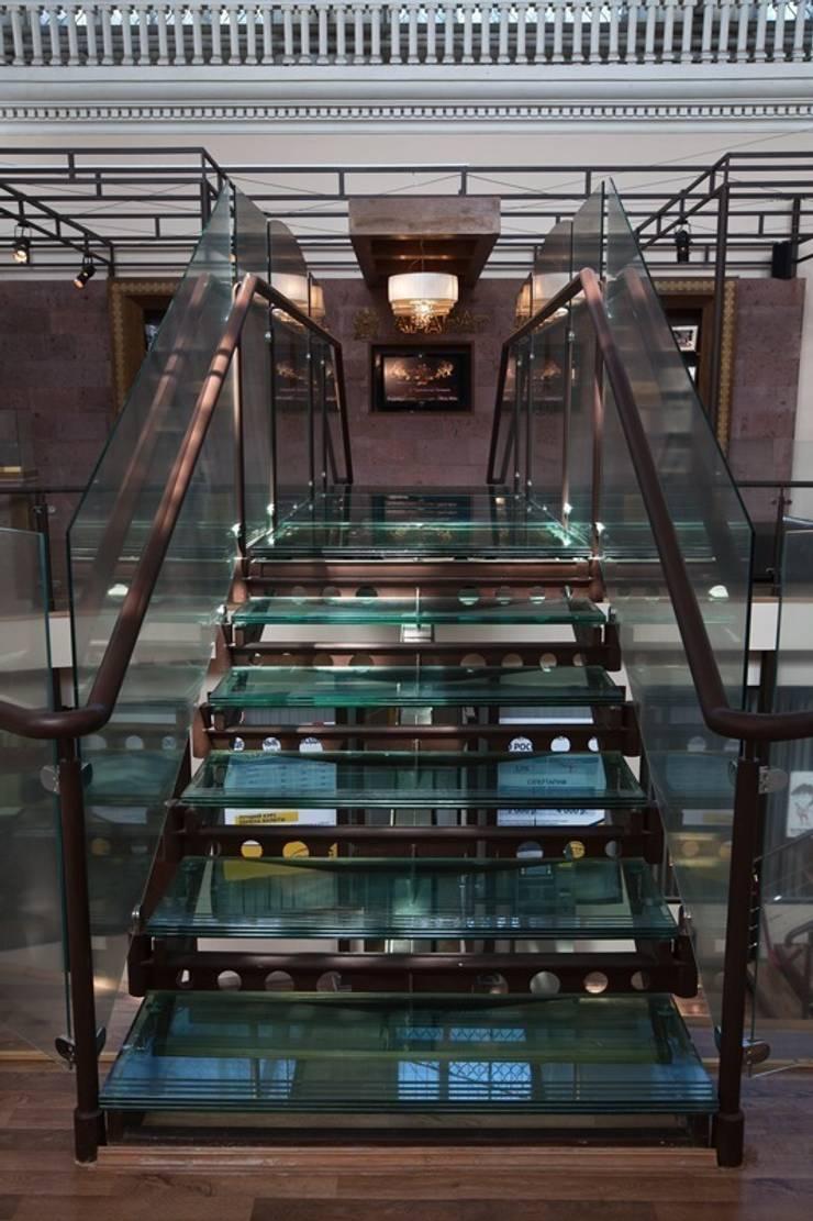 Музей коньяка <q>АРАРАТ</q>: Музеи в . Автор – дизайн студия 'LusiSarkis ', Модерн
