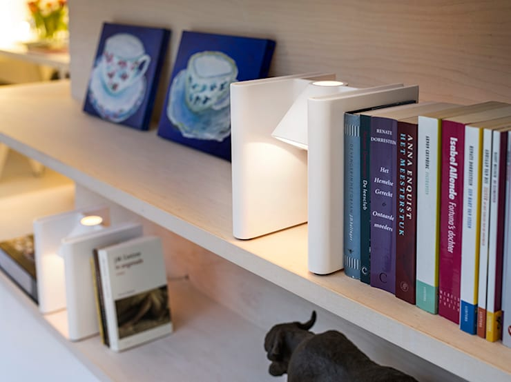 Mr Ed bookend:  Studeerkamer/kantoor door Functionals